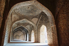 Ruins of Afghan architecture in Mandu, India Stock Photos