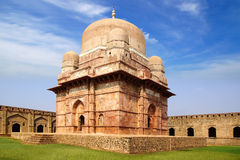 Ruins of Afghan architecture in Mandu, India Stock Photography
