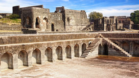 Ruins of Afghan architecture in Mandu, India Royalty Free Stock Images