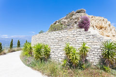 Ruins of Agios Ioannis Stock Photos