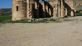 Ruins of Agios Sozomenos Nicosia district. Cyprus. Ruins of Agios Sozomenos temple. Nicosia district. Cyprus stock video