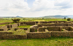 Ruins of Aksum (Axum), Ethiopia Stock Photography