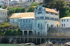 Ruins Of Alcatraz Military Chapel Royalty Free Stock Photo