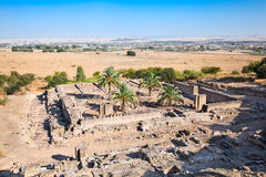 Ruins of Aljama Mosque in Azahara , Cordoba, Spain Stock Photography