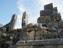 The ruins of the amphitheater in the ancient city of the World Stock Photo
