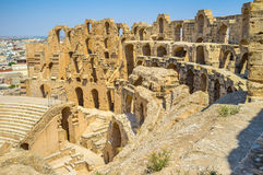 The ruins of amphitheatre Royalty Free Stock Image