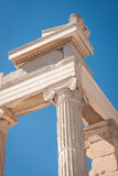 Ruins of the ancient Acropolis in Athens Stock Photos