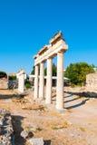 Ruins of the ancient Agora, Kos island. Ruins of the ancient Agora - archaeological site in Kos island, Greece Stock Photos