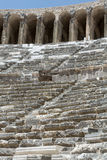 Ruins of ancient amphitheater in Aspendos Royalty Free Stock Photography