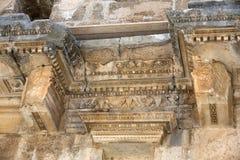 Ruins of ancient amphitheater in Aspendos. Antalya, Turkey Stock Photos