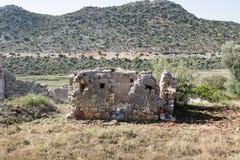 Ruins of ancient Andriyake in Turkey Stock Photography