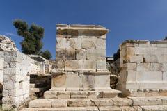 Ruins of ancient Andriyake in Turkey Stock Photo