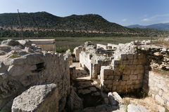 Ruins of ancient Andriyake in Turkey Stock Images