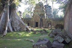 Ruins of ancient Angkor temple Stock Image
