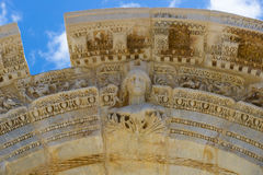 The ruins of the ancient antique city of Ephesus Stock Images