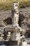 The ruins of the ancient antique city of Ephesus Royalty Free Stock Image