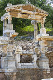 The ruins of the ancient antique city of Ephesus Stock Photo