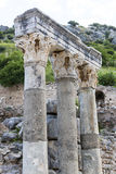 The ruins of the ancient antique city of Ephesus Stock Photography