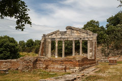 Ruins of the ancient Apollonia town Stock Photography
