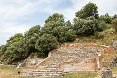 Ruins of the ancient Apollonia town Royalty Free Stock Images