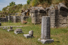 Ruins of the ancient Apollonia town Royalty Free Stock Photos