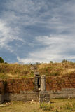 Ruins of the ancient Apollonia town Royalty Free Stock Image