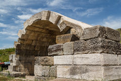 Ruins of the ancient Apollonia town Royalty Free Stock Photography