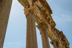 Ruins of the ancient Apollonia town Stock Image
