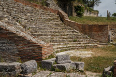 Ruins of the ancient Apollonia town Royalty Free Stock Photo