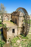 Ruins of an ancient arabic mill in Cordoba, Andalusia, Spain stock photo
