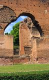 Baths of Caracalla. The ruins of the ancient baths of Caracalla Rome Italy Emperor Antonian Stock Images
