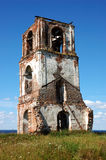 Ruins of ancient bell tower Royalty Free Stock Images