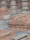 Ruins of ancient Buddhist monastery Stock Images