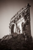 Ruins of ancient building Stock Photography