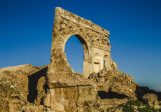 Ruins of ancient building Royalty Free Stock Photo