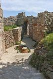 Ruins of Ancient Byzantine fortress The Peristera in town of Peshtera, Bulgaria. Ruins of Ancient Byzantine fortress The Peristera in town of Peshtera Royalty Free Stock Photo