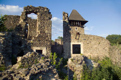 Ruins of an ancient castle Royalty Free Stock Photo