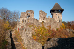 Ruins of an ancient castle Stock Image