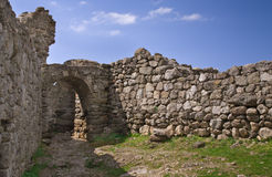 Ruins of ancient castle Royalty Free Stock Photo