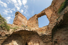 The ruins of an ancient castle Royalty Free Stock Image