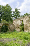 The ruins of an ancient castle Royalty Free Stock Photography