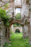 The ruins of an ancient castle Stock Image