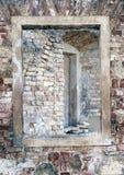 Ruins of ancient church Stock Photo
