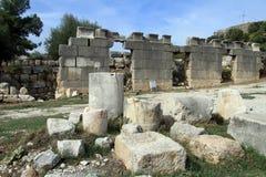 Ruins in Ksanthos Royalty Free Stock Image