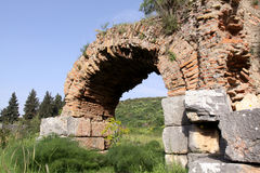 Ruins of the ancient city Stock Photos