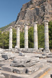 Ruins of ancient city Stock Image
