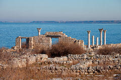 The ruins of the ancient city Stock Images
