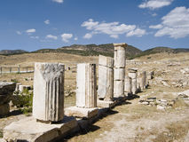Ruins of ancient city Stock Photos
