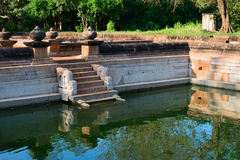 Ruins of the ancient city Anuradhapura, Sri Lanka royalty free stock image