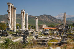 Ruins of the ancient city of Aphrodisias Royalty Free Stock Photography
